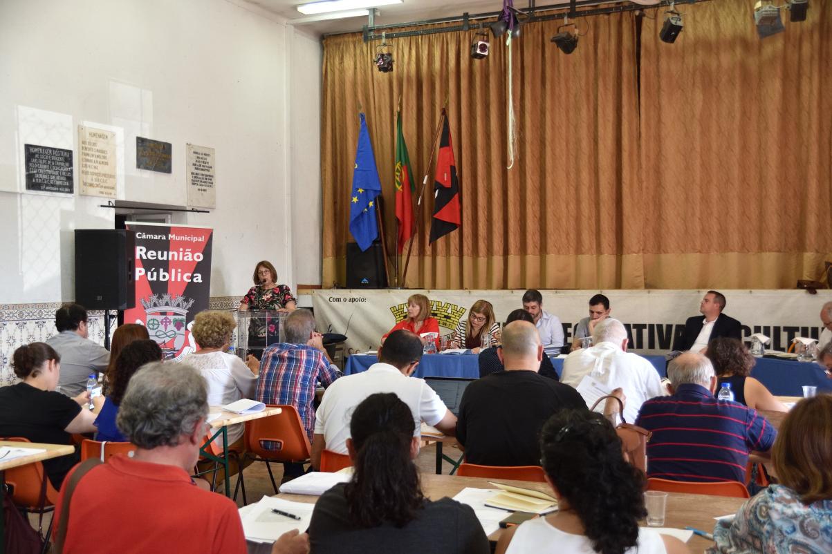 Intervenção da Associação  na Assembleia Municipal no dia 23 sobre o Moinho Pequeno.